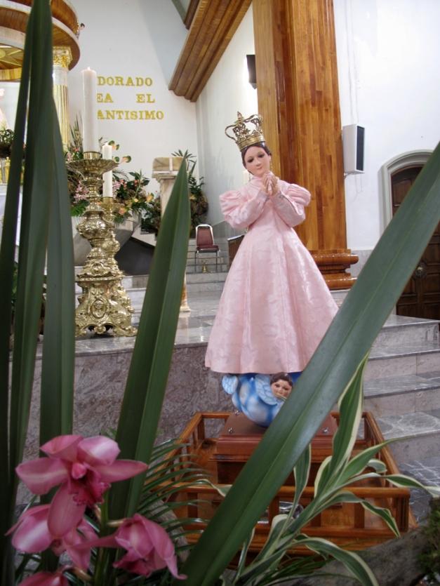 Virgen del Barrio de Santa Ma.